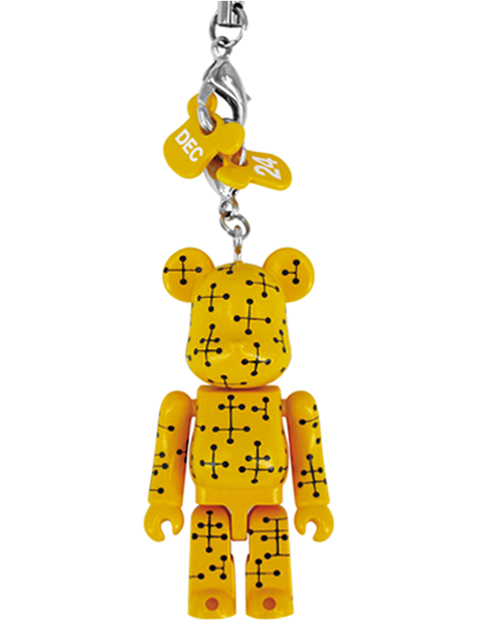 MEDICOM TOY EXHIBITION 2012先行販売 Happy BE@RBRICK EAMES YELLOW Ver. ベアブリック 70%