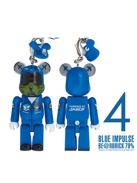 BLUE IMPULSE ブルーインパルス BE@RBRICK ベアブリック 70% 4番機