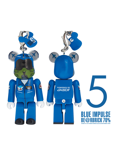 BLUE IMPULSE ブルーインパルス BE@RBRICK ベアブリック 70% 5番機