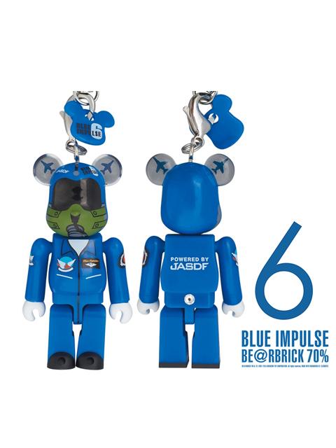 BLUE IMPULSE ブルーインパルス BE@RBRICK ベアブリック 70% 6番機