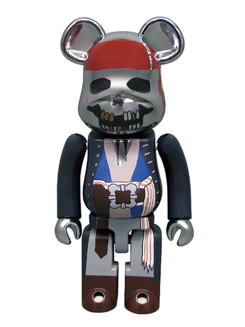 MEDICOM TOY 15th ANNIVERSARY EXHIBITION限定 超合金 BE@RBRICK Pirates of the Caribbean 200%