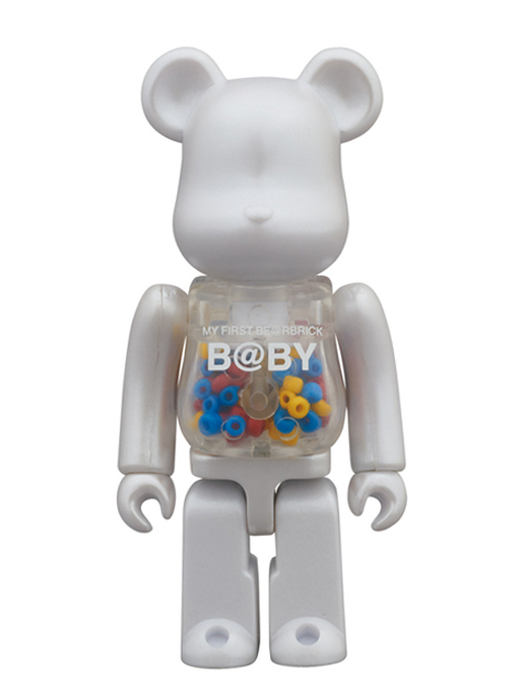 ベアブリック MY FIRST BE@RBRICK B@BY MEDICOM TOY 15th Anniversary Ver. 100%