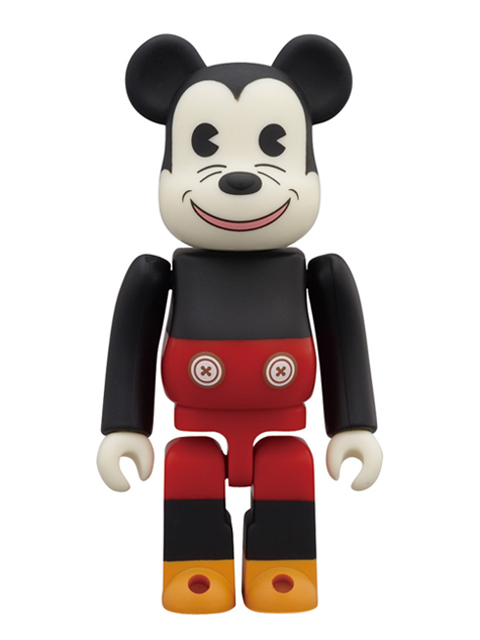 WORLD WIDE TOUR BE@RBRICK ベアブリック 100% MICKEY MOUSE