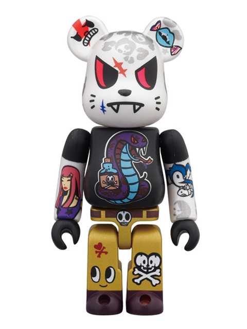 WORLD WIDE TOUR BE@RBRICK ベアブリック 100% TOKIDOKI