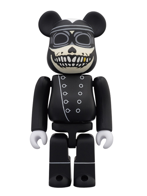 WORLD WIDE TOUR BE@RBRICK ベアブリック 100% CONRAD LEACH