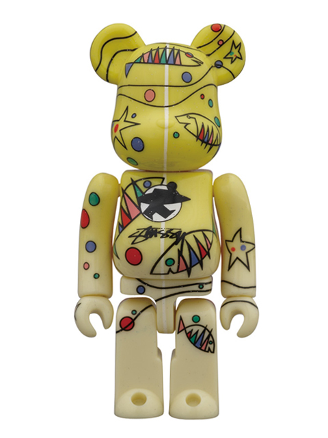 WORLD WIDE TOUR BE@RBRICK ベアブリック 100% STUSSY