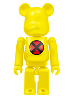 BE@RBRICK Happyくじ MARVEL 26.X-MEN  ベアブリック 100%