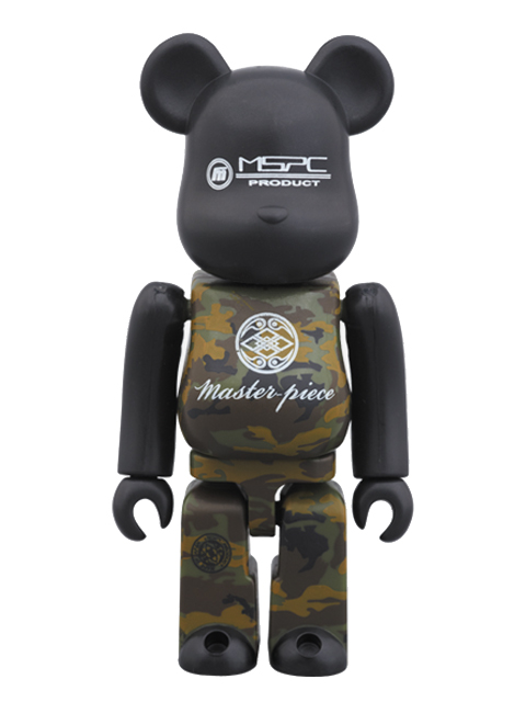 master-piece×BE@RBRICK ベアブリック 100%