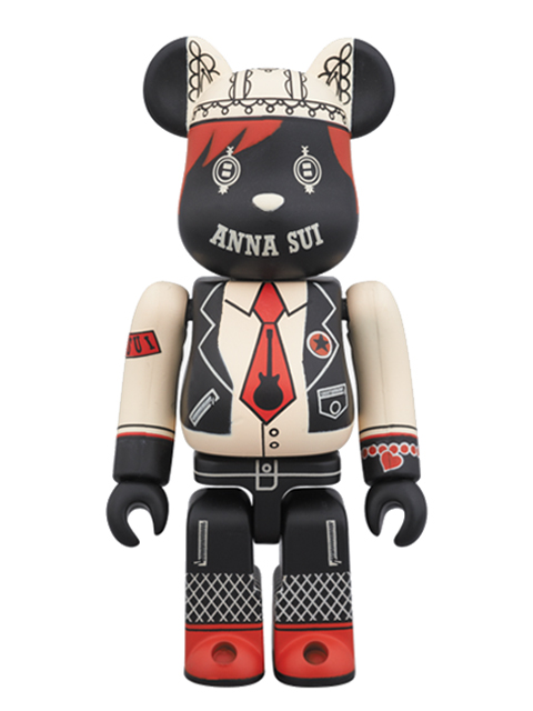 BE@RBRICK ANNA SUI BLACK Ver. ベアブリック 100%