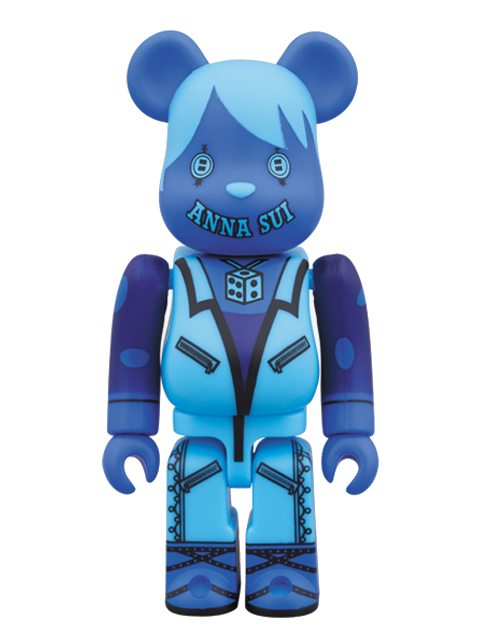 BE@RBRICK ANNA SUI BLUE Ver. ベアブリック 100%