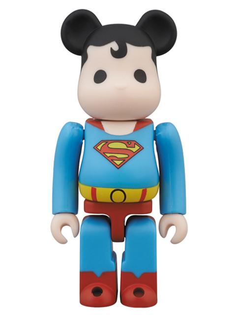 WF2013(夏)限定 BE@RBRICK ベアブリック スーパーマン 100%