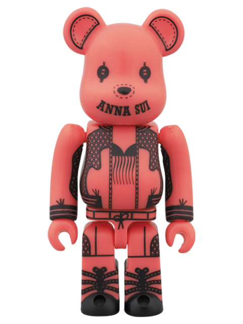 BE@RBRICK ANNA SUI 2014 ピンクVer. ベアブリック 100%