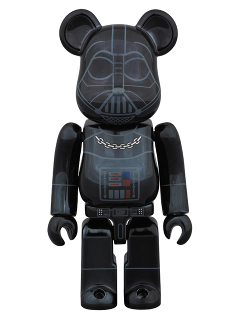 MEDICOM TOY EXHIBITION 2015限定 BE@RBRICK ベアブリック DARTH VADER(TM) CHROME Ver.  100%