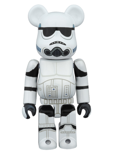 MEDICOM TOY EXHIBITION 2015限定 BE@RBRICK ベアブリック STORMTROOPER(TM)  CHROME Ver.  100%