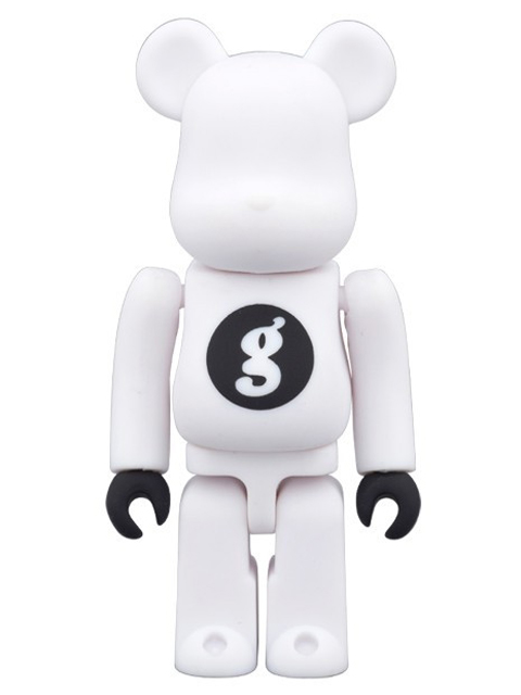 BE@RBRICK ベアブリック GOODENOUGH WHITE 100%