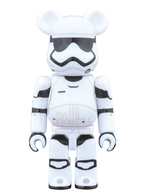 MEDICOM TOY 20th ANNIVERSARY EXHIBITION開催限定 BE@RBRICK ベアブリック FIRST ORDER STORMTROOPER(TM) 100%