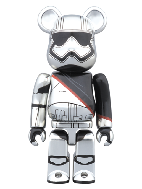 MEDICOM TOY 20th ANNIVERSARY EXHIBITION開催限定 BE@RBRICK ベアブリック CAPTAIN PHASMA(TM) 100%