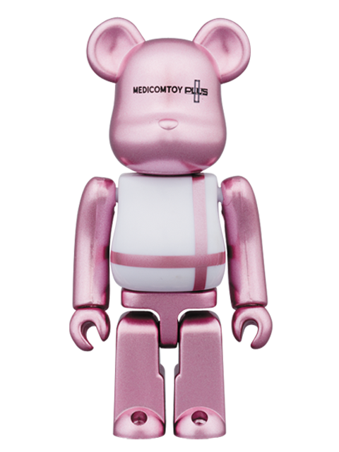 MEDICOM TOY PLUS限定 MEDICOM TOY PLUS PINK Ver.BE@RBRICK ベアブリック 100%