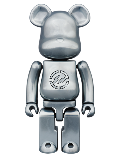 MEDICOM TOY PLUS限定 超合金 fragmentdesign.BE@RBRICK ベアブリック 200%