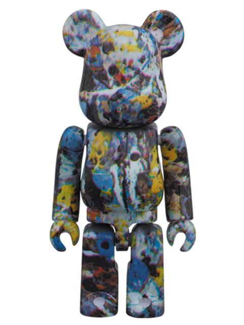 Jackson Pollock Studio BE@RBRICK ベアブリック 100%