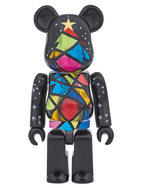 2016 Xmas Stained-glass tree Ver. BE@RBRICK ベアブリック 100%