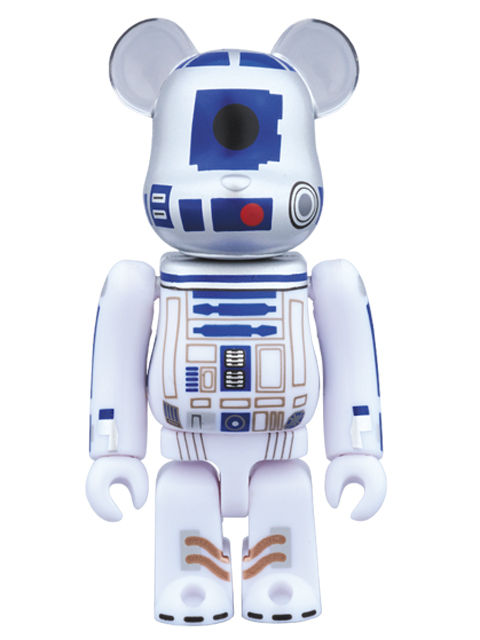R2-D2(TM)40th Anniv. Ver. STARWARS BE@RBRICK ベアブリック 100%