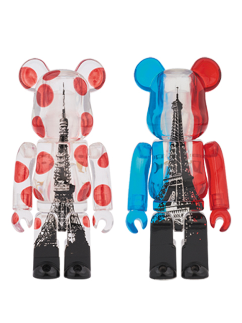 TOKYO TOWER  EIFFEL TOWER TWIN TOWER PACK BE@RBRICK ベアブリック 100%set