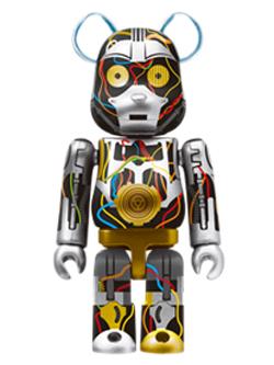 Happyくじ STAR WARS 2. C-3PO Ep1 Ver. BE@RBRICK ベアブリック 100%
