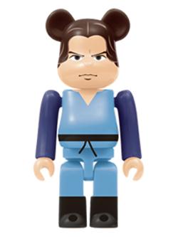 Happyくじ STAR WARS 6. ボバ・フェット Child Ver. BE@RBRICK ベアブリック 100%