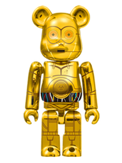 Happyくじ STAR WARS 23. C-3PO TM  BE@RBRICK ベアブリック 100%