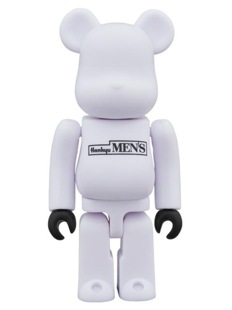 阪急メンズ大阪 『10周年Anniversary』  BE@RBRICK ベアブリック 100% WHITE Ver.