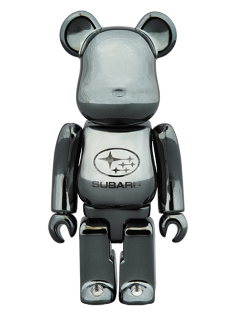 SUBARU BE@RBRICK THE 2nd ANNIVERSARY LIMITED MODEL ベアブリック 100%