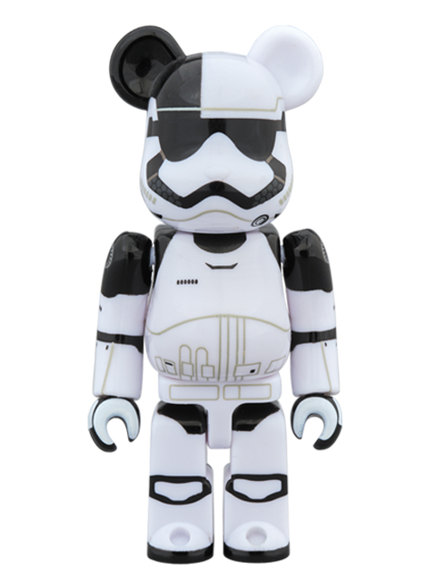 MEDICOM TOY EXHIBITION '18開催限定 FIRST ORDER STORMTROOPER  EXECUTIONER(TM) BE@RBRICK ベアブリック 100%
