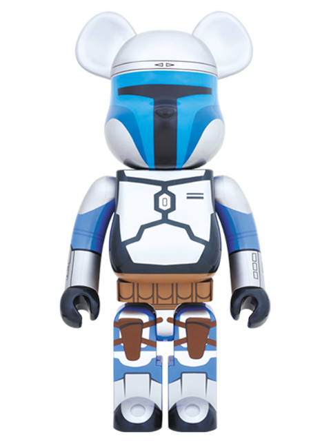 MEDICOM TOY 20th ANNIVERSARY EXHIBITION開催限定 BE@RBRICK ベアブリック JANGO FETT(TM) 1000%