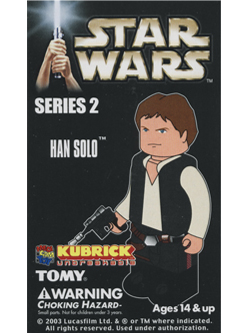KUBRICK STAR WARS SERIES2 HAN SOLO