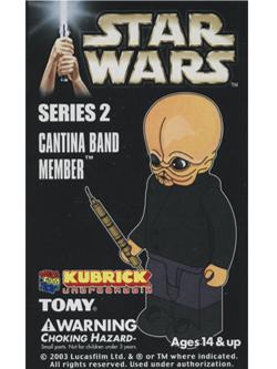 KUBRICK STAR WARS SERIES2 CANTINA BAND MEMBER