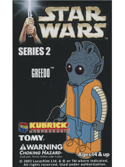 KUBRICK STAR WARS SERIES2 GREEDO