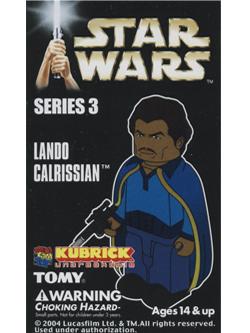 KUBRICK STAR WARS SERIES3 LANDO CALRISSIAN