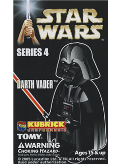 KUBRICK STAR WARS SERIES4 DARTH VADER