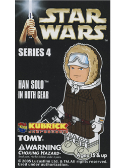 KUBRICK STAR WARS SERIES4 HAN SOLO IN HOTH GEAR