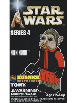 KUBRICK STAR WARS SERIES4 NIEN NUNB