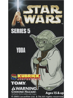 KUBRICK STAR WARS SERIES5 YODA