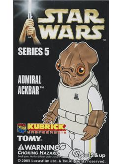 KUBRICK STAR WARS SERIES5 ADMIRAL ACKBAR