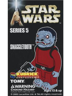 KUBRICK STAR WARS SERIES5 SNAGGLETOOTH