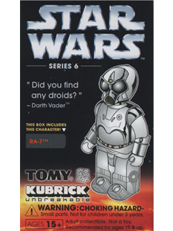 KUBRICK STAR WARS SERIES6 RA-7