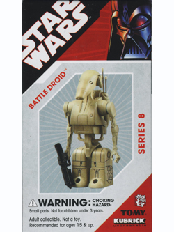 KUBRICK STAR WARS SERIES8 BATTLE DROID