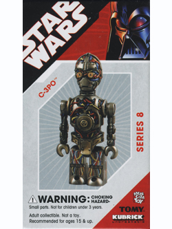KUBRICK STAR WARS SERIES8 C-3PO
