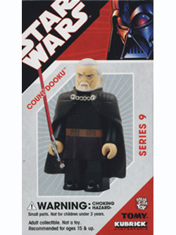 KUBRICK STAR WARS SERIES9 COUNT DOOKU