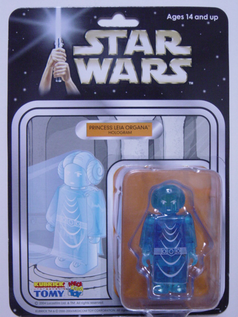 WCC限定 KUBRICK STAR WARS PRINCESS LEIA ORGANA HOLOGRAM