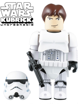 BLISTER DIRECT限定 KUBRICK STORMTROOPER(TM) HAN SOLO Ver. 400%